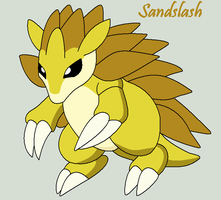 Sandslash by Roky320