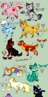 100 theme adopts (4/12 OPEN) by NightFever100