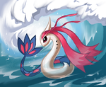 Milotic by Dragongirl269