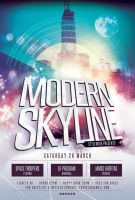 Modern Skyline Flyer by styleWish