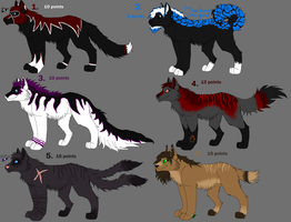 Point-adoptables sheet 11 by FreeLikeABird