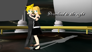 .:MMD:. Ballroom Rin and Len + Download by FrostyChica
