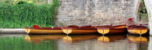 Rowing boats 2 by Mark-Allison