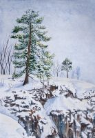 Russian nature - mountains by qi-art