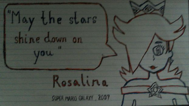 Rosalina: The Galaxy Stunner version 2 by The-Rosalina-Guru