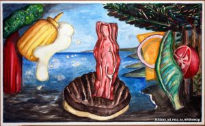 Birth of Bacon by thecip