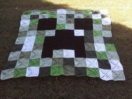 Cochet Creeper Blanket by LilliM00