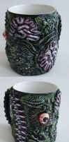 Zombie Mug1 by richardsymonsart