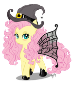 Fluttershy witch costume by karlosbaygorriakb