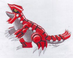 Groudon by LARvonCL