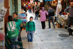 Arab boys in the souk by dpt56
