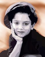 Young Elijah Wood by Beckmyster