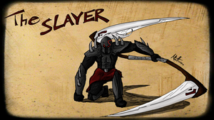 The Slayer: Warrior of Darkness by MadDragonCharacters