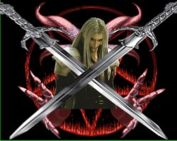 Sephiroth Devil by TWFFOMA-xD