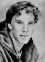 benedict cumberbatch by okstrong