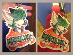 Marilyn Badge by Iucifre