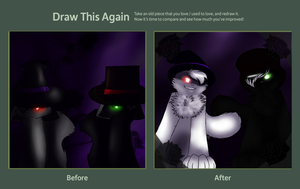 Before and After by adriane98akaclover