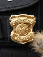 Police Dog Badge by weisewoelfin
