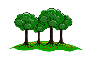 Trees - SVG by billps