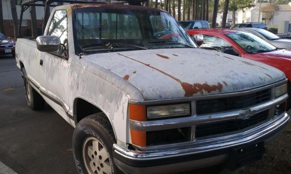 1990 Chevy 1500 4x4 with the 350 V8 (Project) by TranssexualJesus