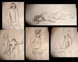Study of a man's body by Tyliss