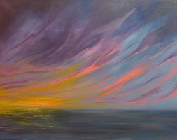 Seascape of colours by LeafoftheSoul