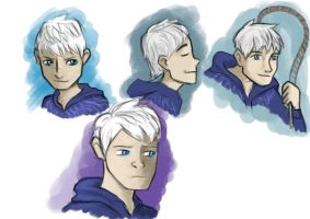 Jack Frost Sketches by ShoyzzFanArt