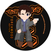 Captain Jack Harkness Button by Soseiru