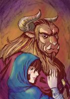Beauty and the Beast. by Leimrei