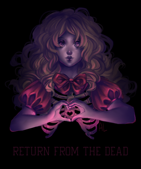 Drawlloween day 1 - return from the dead by AnnyLi06