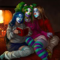 Christmas Clowns by Penanggalan