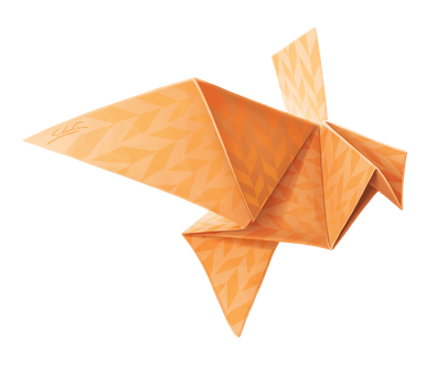 Origami Fall by Nartemide