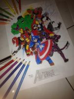 The Avengers by Julalesss