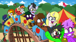 Fun on the safest roller coaster ever by wedraw4boops-admin