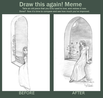 Before and After Meme - At the Window by ThroughMyThoughts