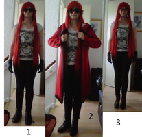 What to wear? Opinions please~ by LuLu-Bubbles