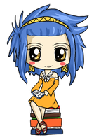 Levy Chibi by IcyPanther1