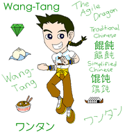My famous Wang-Tang drawing by airbornewife71