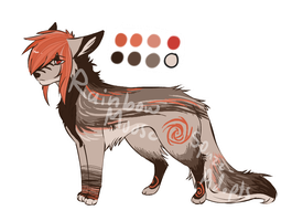 Wolfy - SOLD by Spazz-Adopts