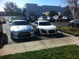 Audi and Nissan by Notorious-Gear