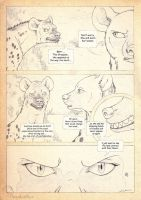 The Hyena Queen - Conceptual Comic III by Anatoliba