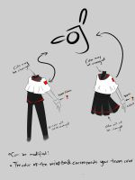 Le uniform For OddJobs by Blackcaress
