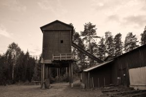Old lumber mill by Levito