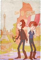 Beatles: John and Paul by lorainesammy
