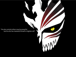Ichigo Hollow Mask by FredTheLifeguard