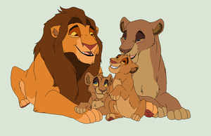 Lion Family Adoptable by Nyrexis