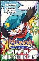 Klonoa Launches on ShiftyLook! by Zubby