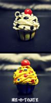 Disney Inspired Cupcake Charms by Me-O-Tojite