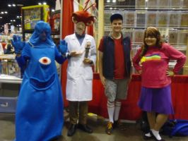 Megacon '16: Monsters vs. Mystery Twins by NaturesRose