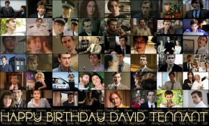 Happy Birthday David Tennant by mustbecalm